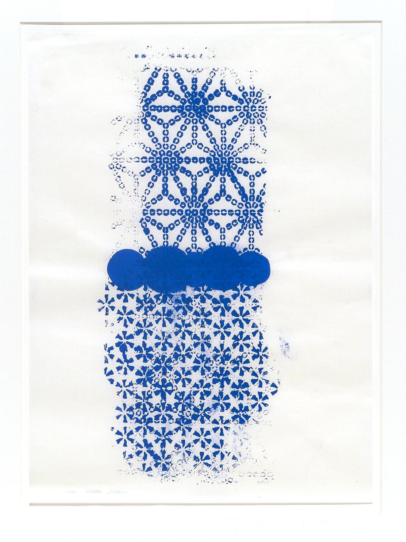 Gabriel Orozco, Katagami Prints 6, 2001