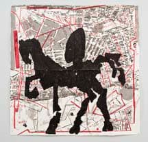 William Kentridge, Nose on Horse - Bertrams, 2007