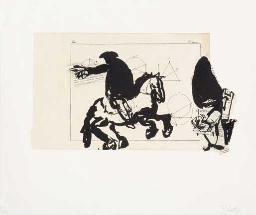 William Kentridge, Horseman, 2007