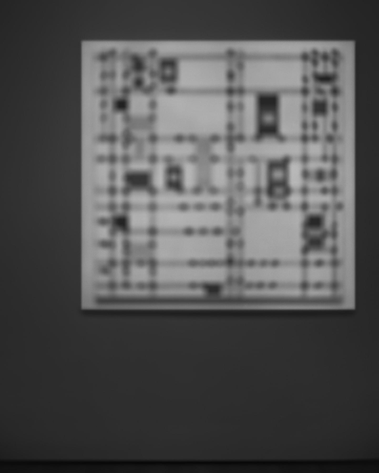 Hiroshi Sugimoto, Past Presence 041, Broadway Boogie Woogie, Piet Mondrian, 2014