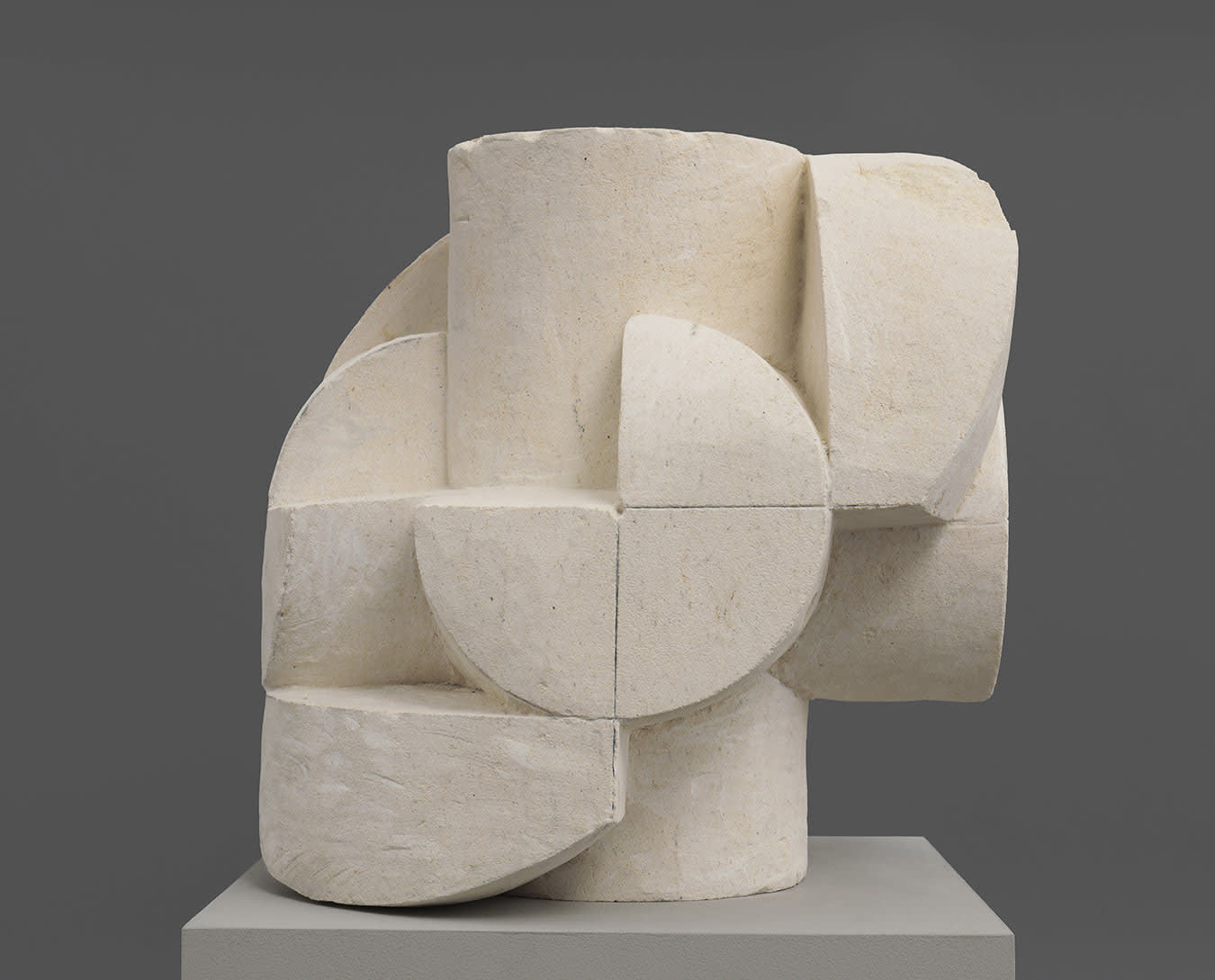 An abstract sculpture by Gabriel Orozco