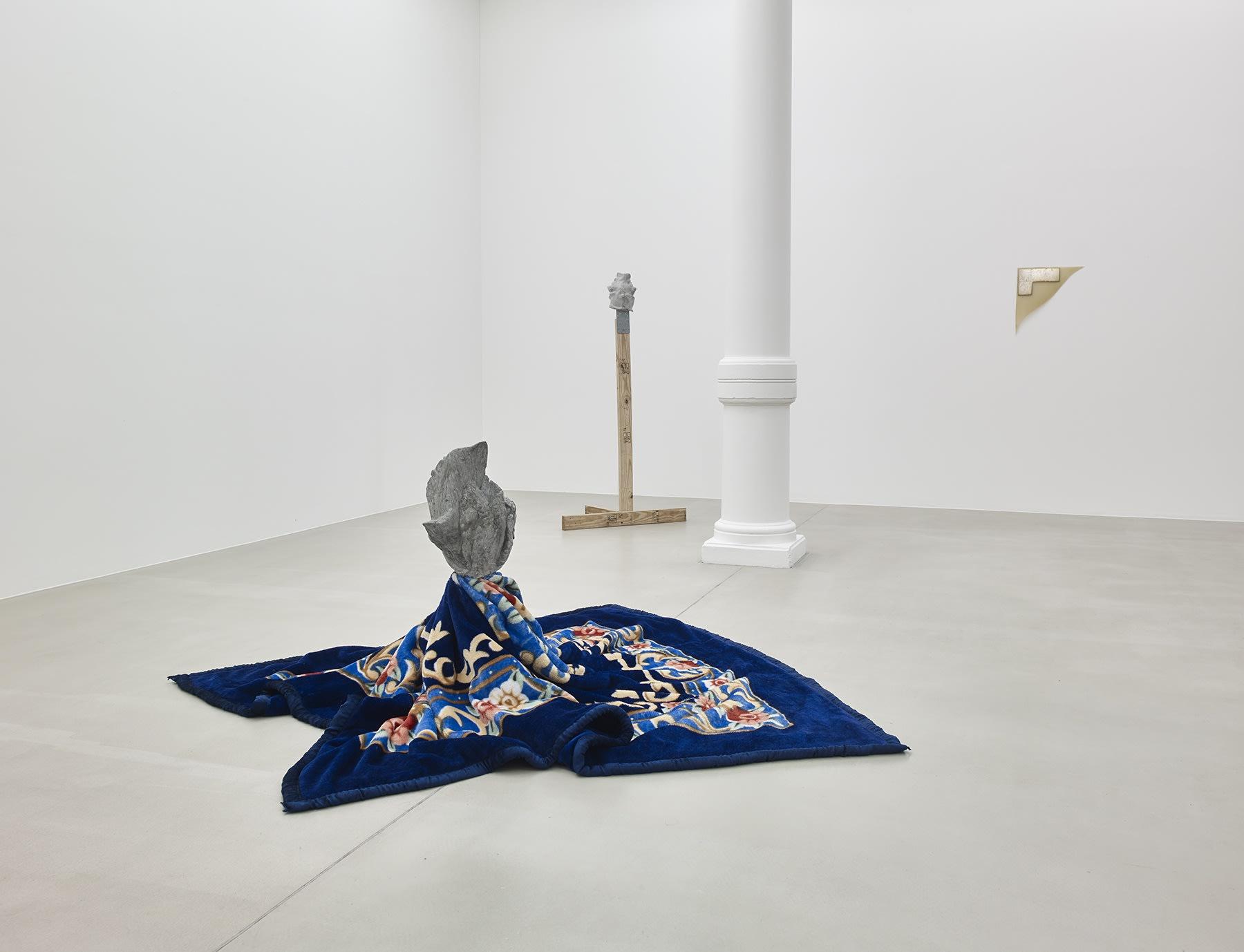 Sculpture 4tet Luciano Fabro, Jean-Luc Moulène, Bruce Nauman & Danh Vo - curated by Jean-Pierre Criqui