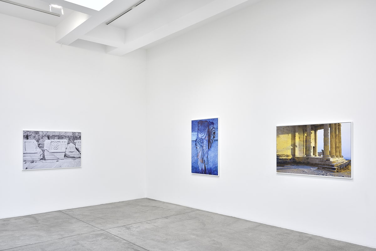 James Welling The Earth, the Temple and the Gods