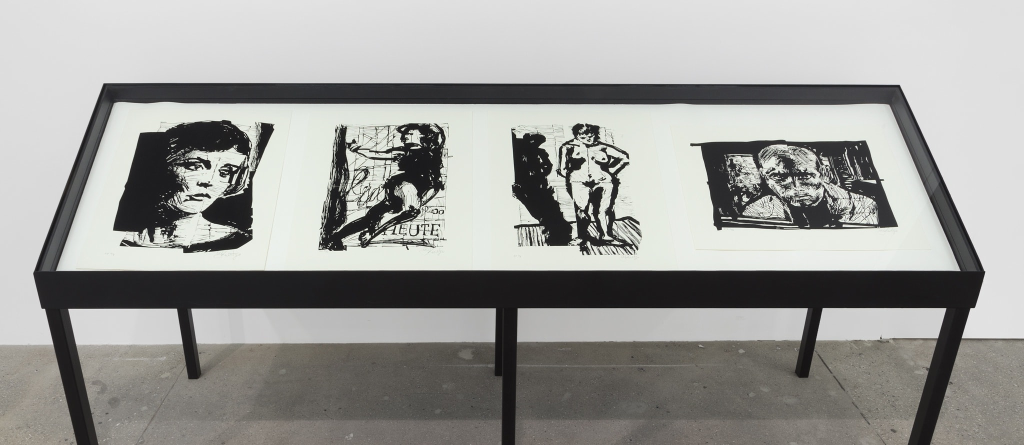 William Kentridge Drawings for 'Lulu'