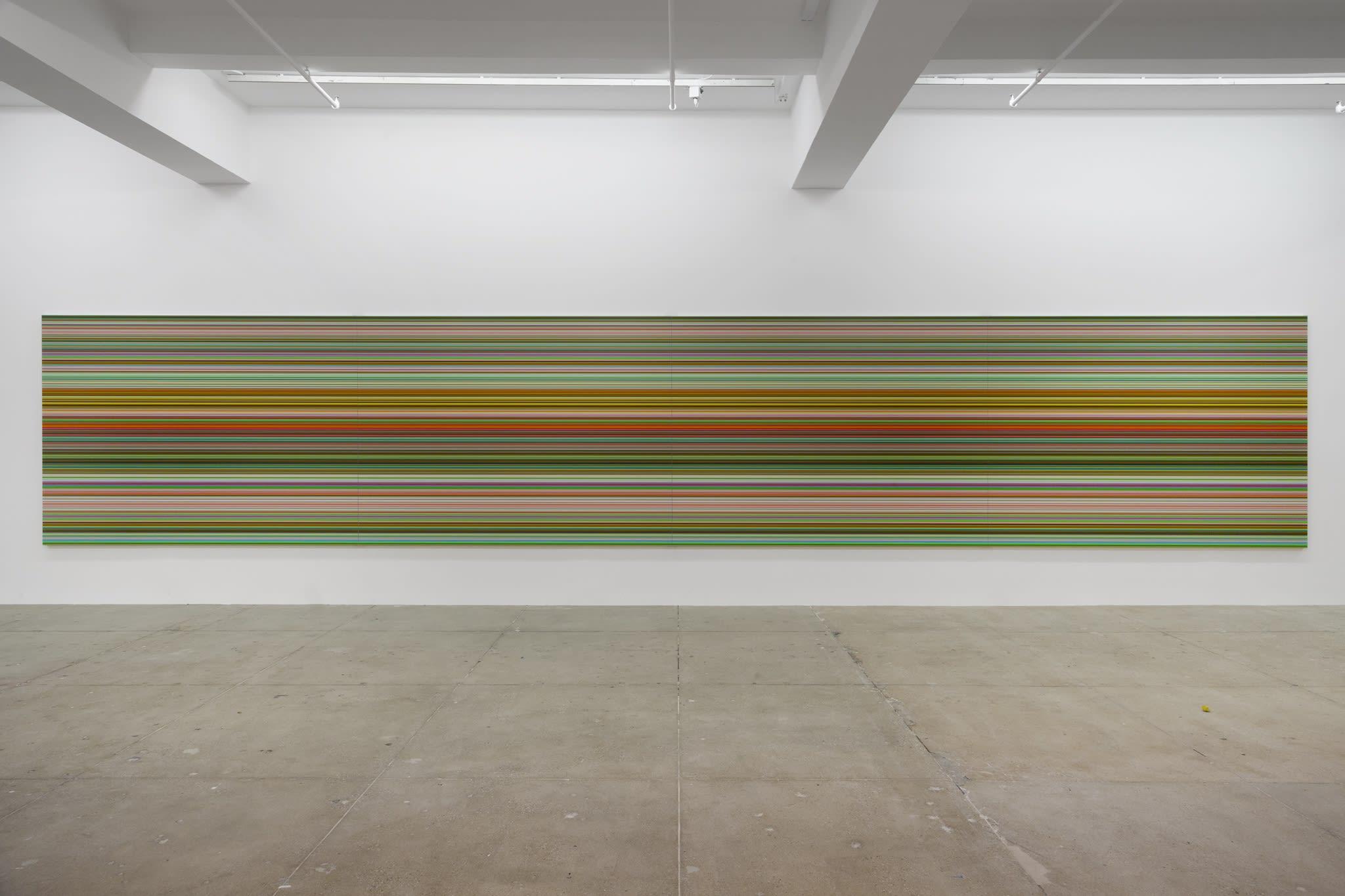Sol Lewitt, John McCracken, Gerhard Richter, Fred Sandback, Anne Truitt, Lawrence Weiner