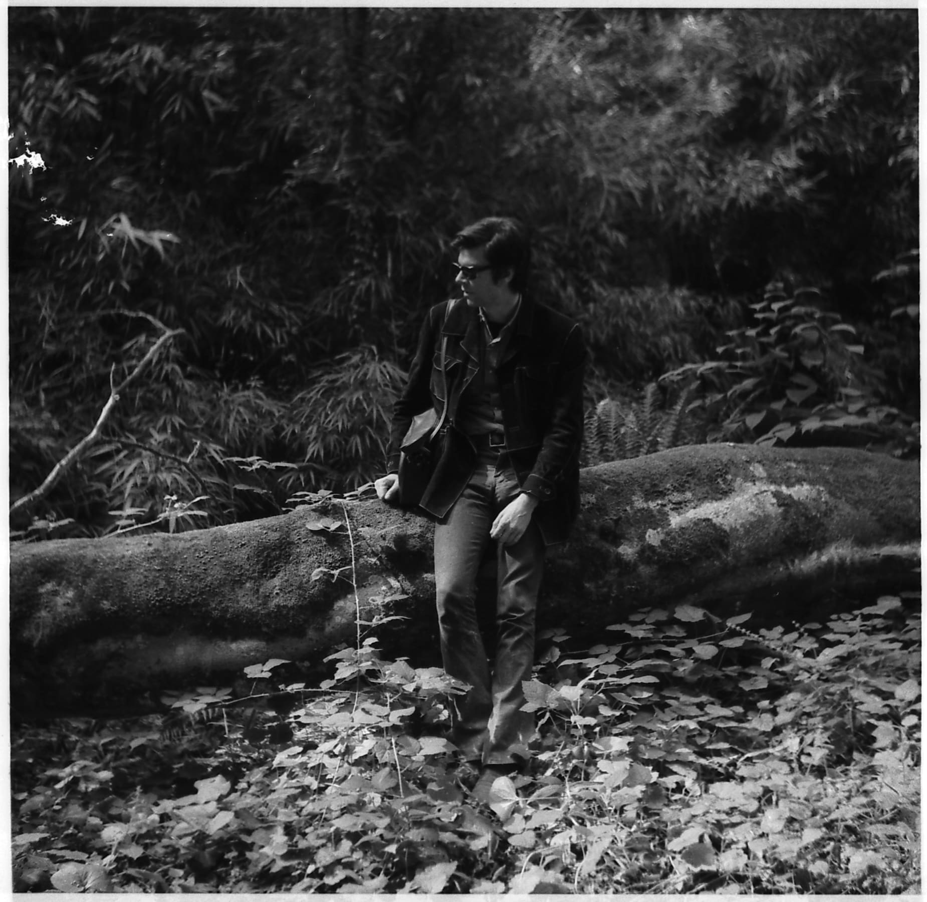 Robert Smithson in the UK working on a Mirror Displacement in 1969, photographed by Nancy Holt. ©Holt/Smithson Foundation, licensed by VAGA at ARS, New York.