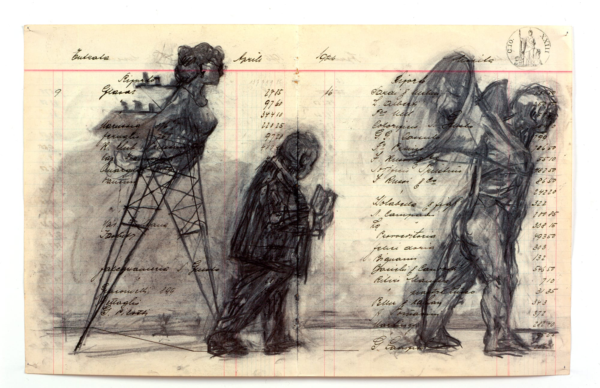 William Kentridge Zeno Writing