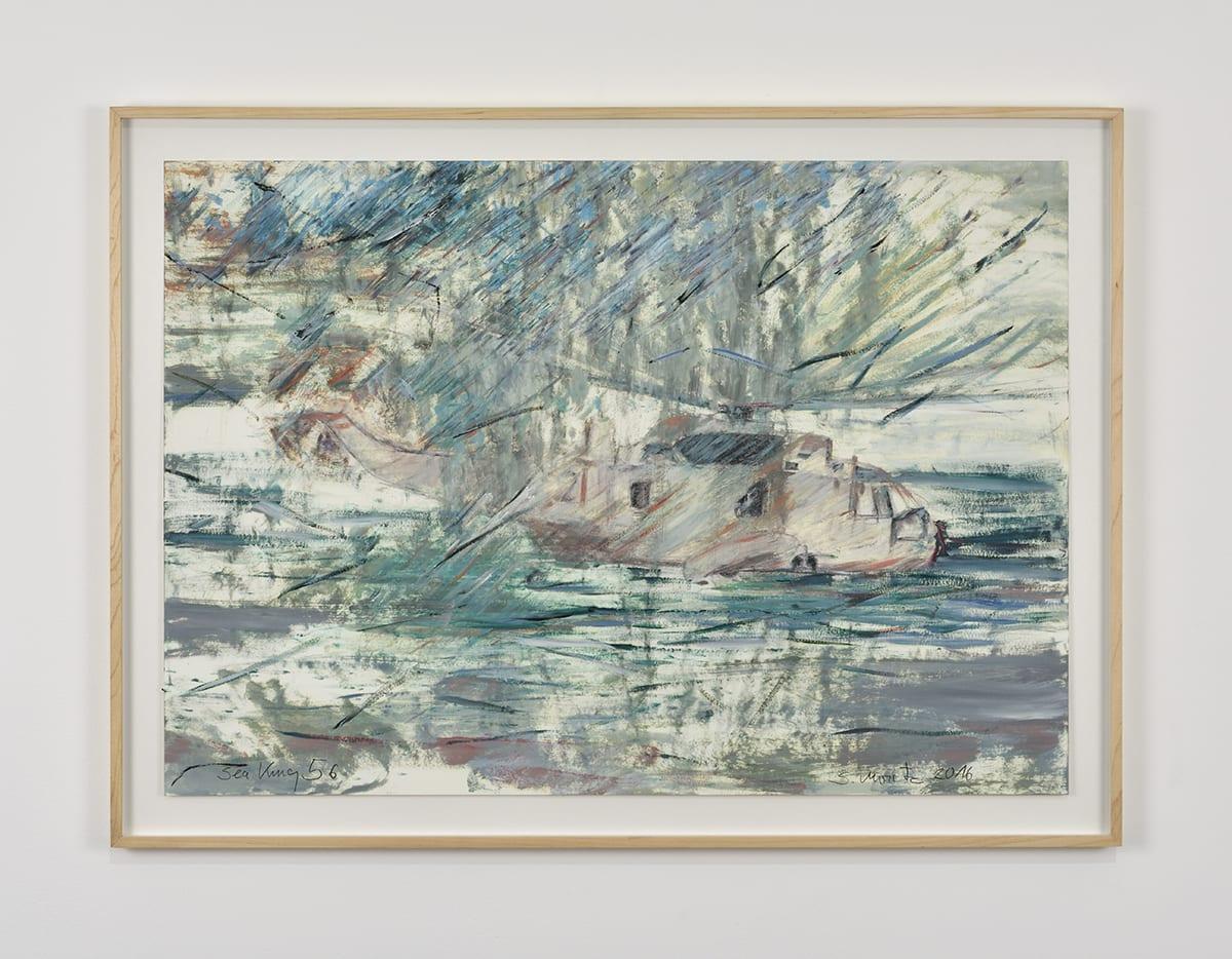 Sabine Moritz, Sea King 56, 2016