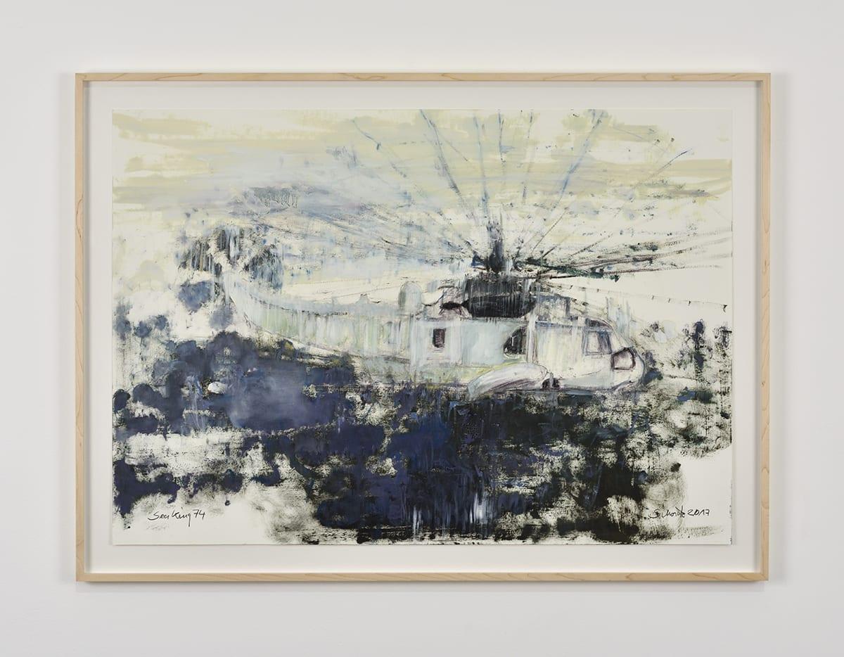 Sabine Moritz, Sea King 74, 2017