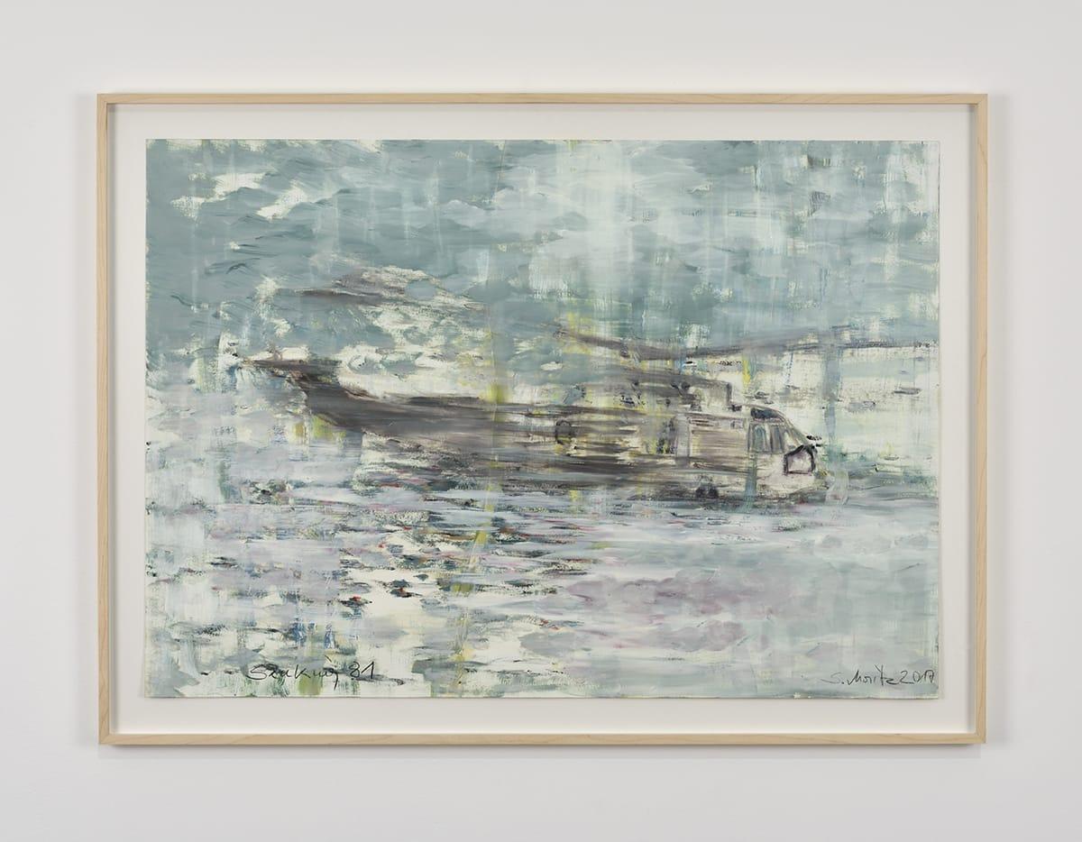 Sabine Moritz, Sea King 81, 2017
