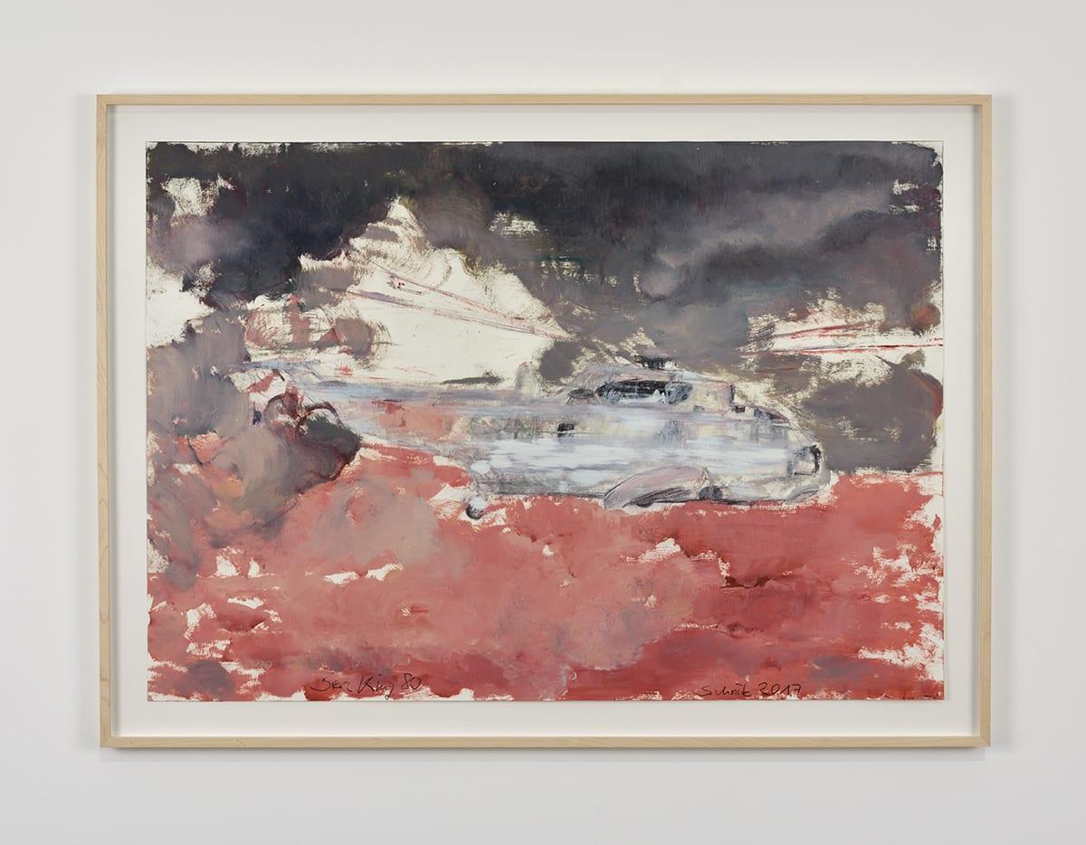Sabine Moritz, Sea King 80, 2017