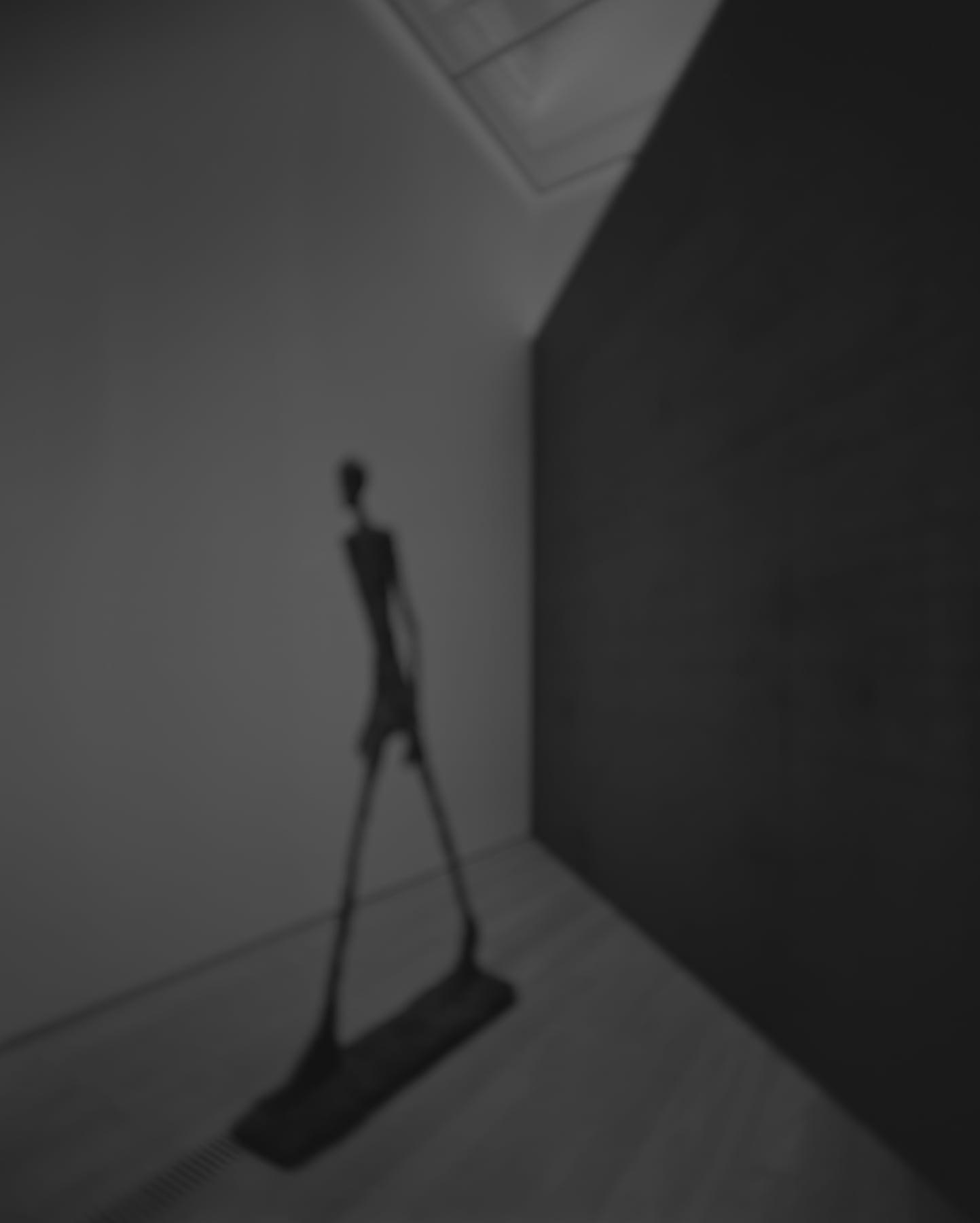 Hiroshi Sugimoto, Past Presence 071, L'homme qui marche II, Alberto Giacometti, 2016