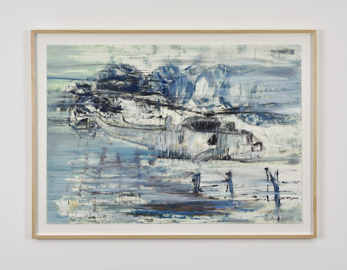 Sabine Moritz, Sea King 41, 2015