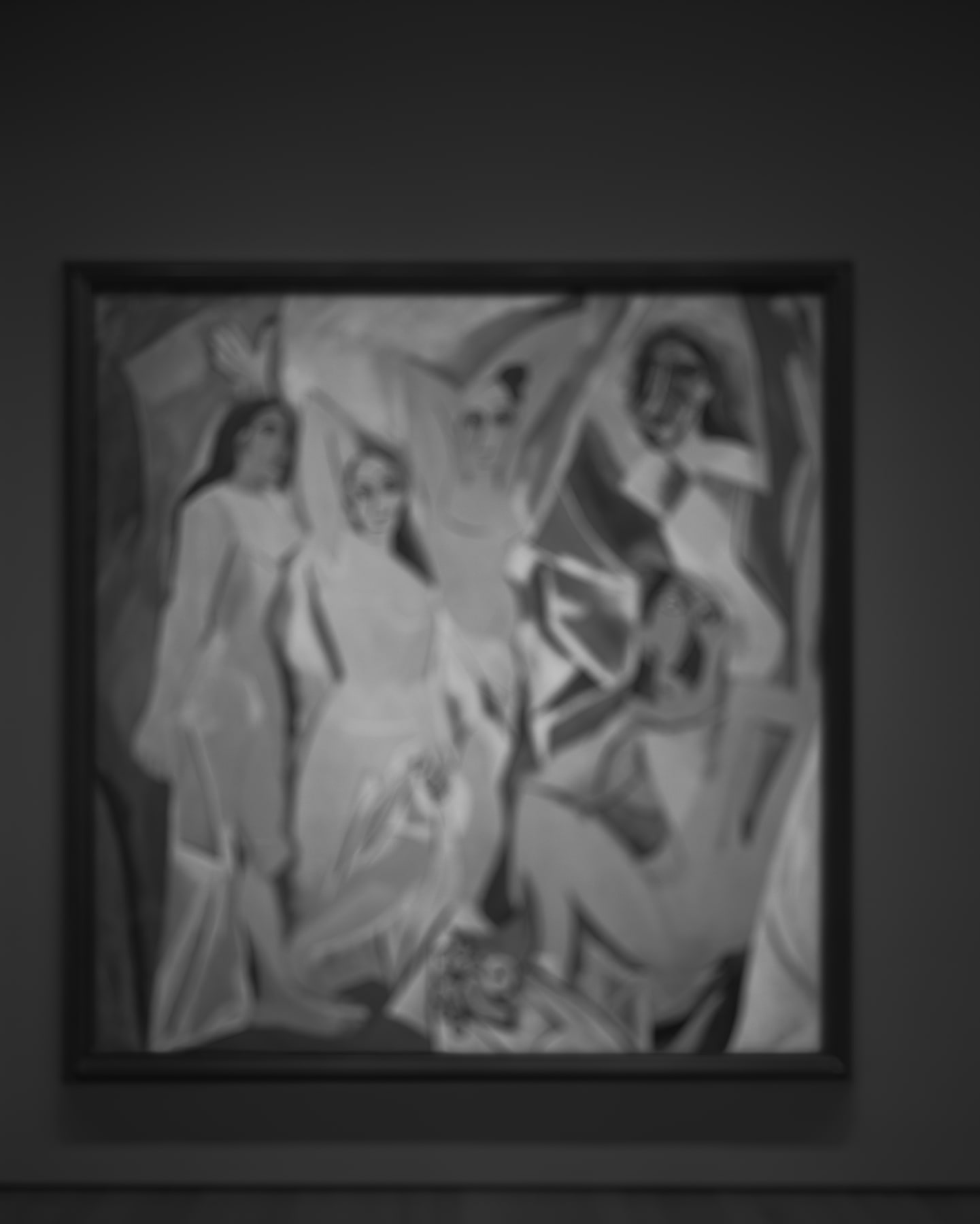 Hiroshi Sugimoto, Past Presence 060, Les Demoiselles D'Avignon, Pablo Picasso, 2014
