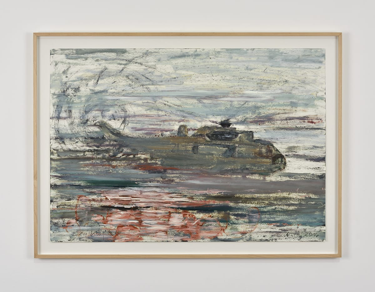 Sabine Moritz, Sea King 54, 2016