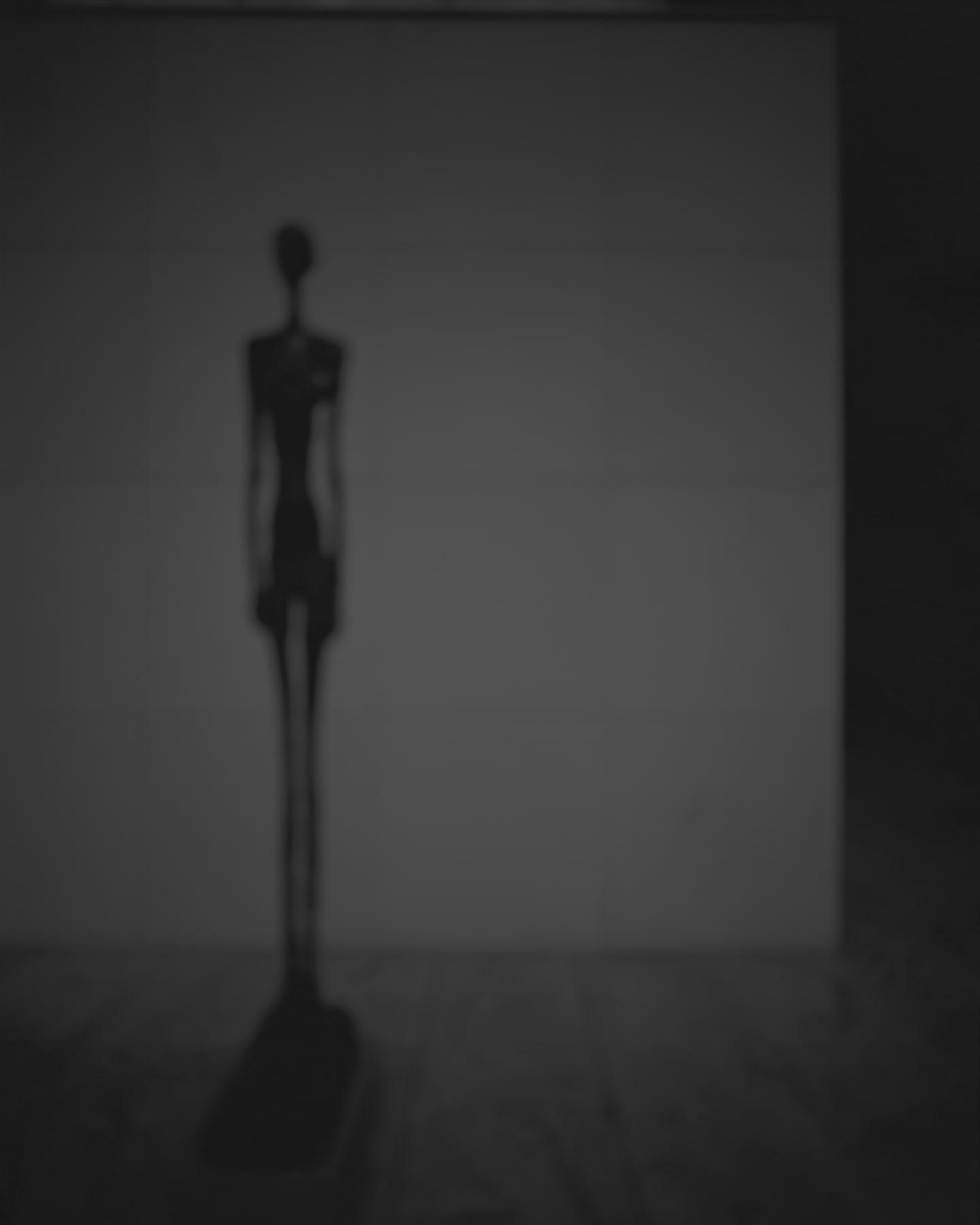 Hiroshi Sugimoto, Past Presence 001, Tall Figure III, Alberto Giacometti, 2013