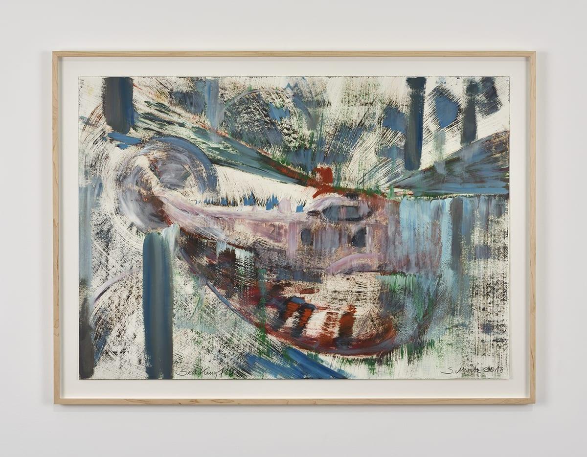 Sabine Moritz, Sea King 110, 2018