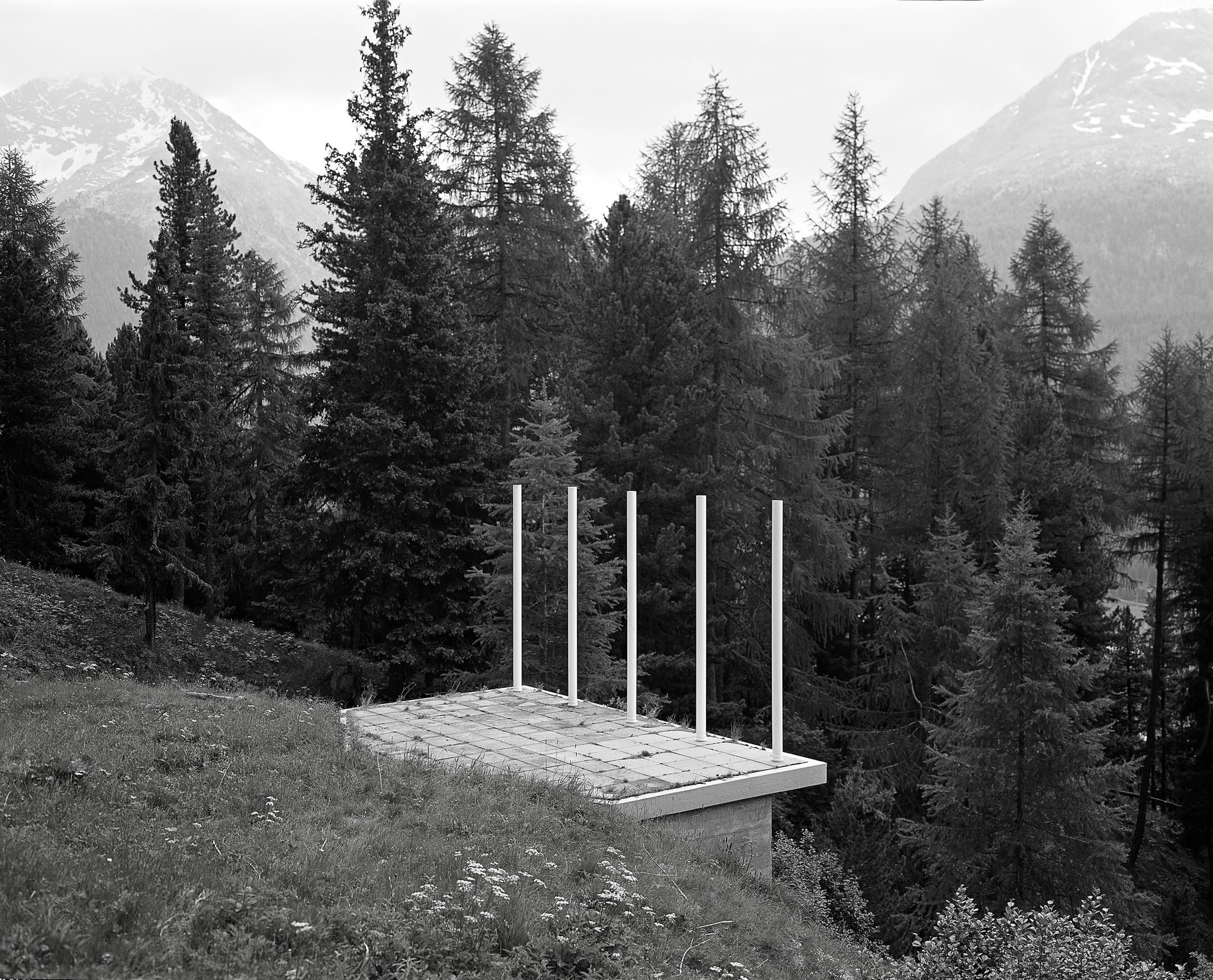Tom Lovelace, Platform at Pontresina, 2015