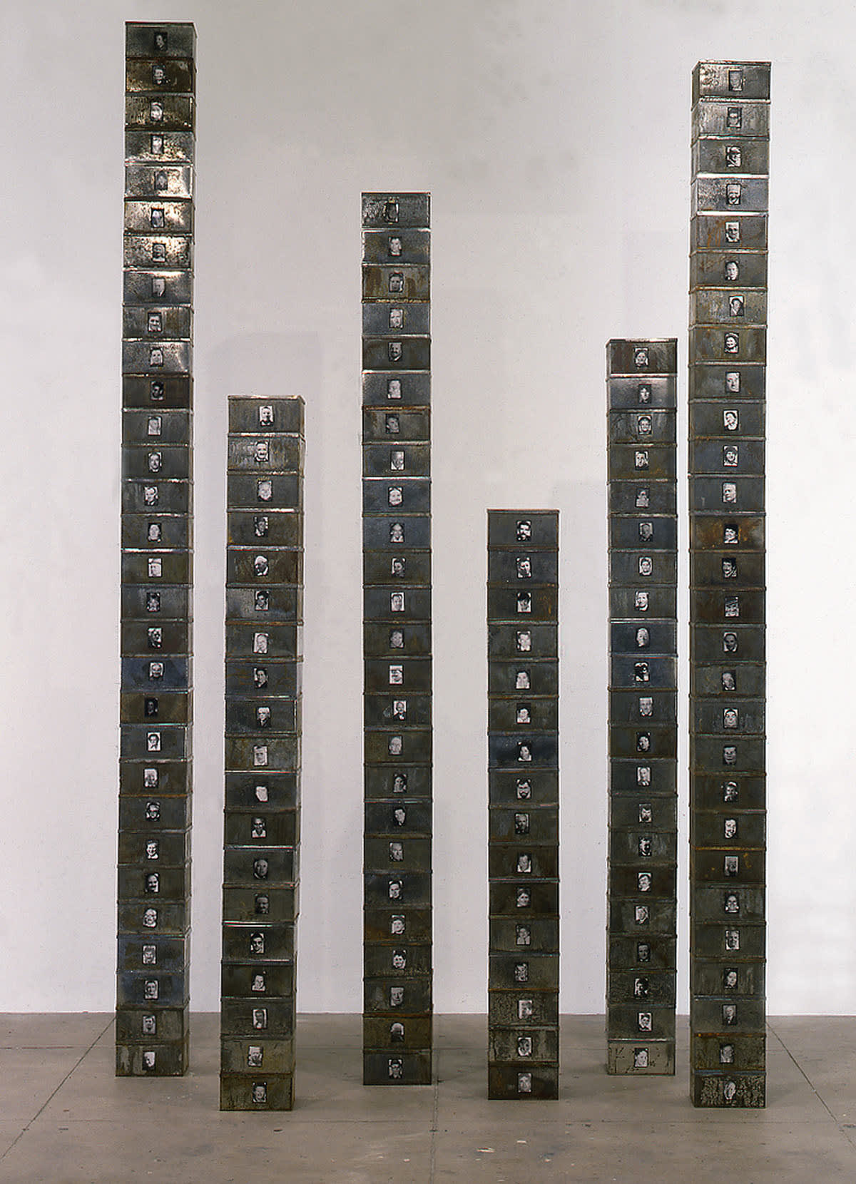 Christian Boltanski, Reserve of Dead Swiss (One's Not Dead), 1991