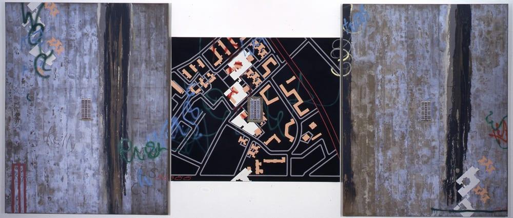 David Hepher Two Triptychs