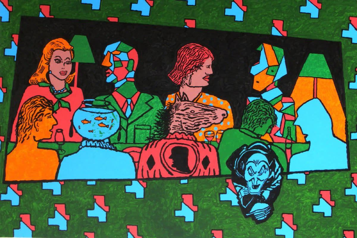 Derek Boshier New Paintings / Chemical Culture Series