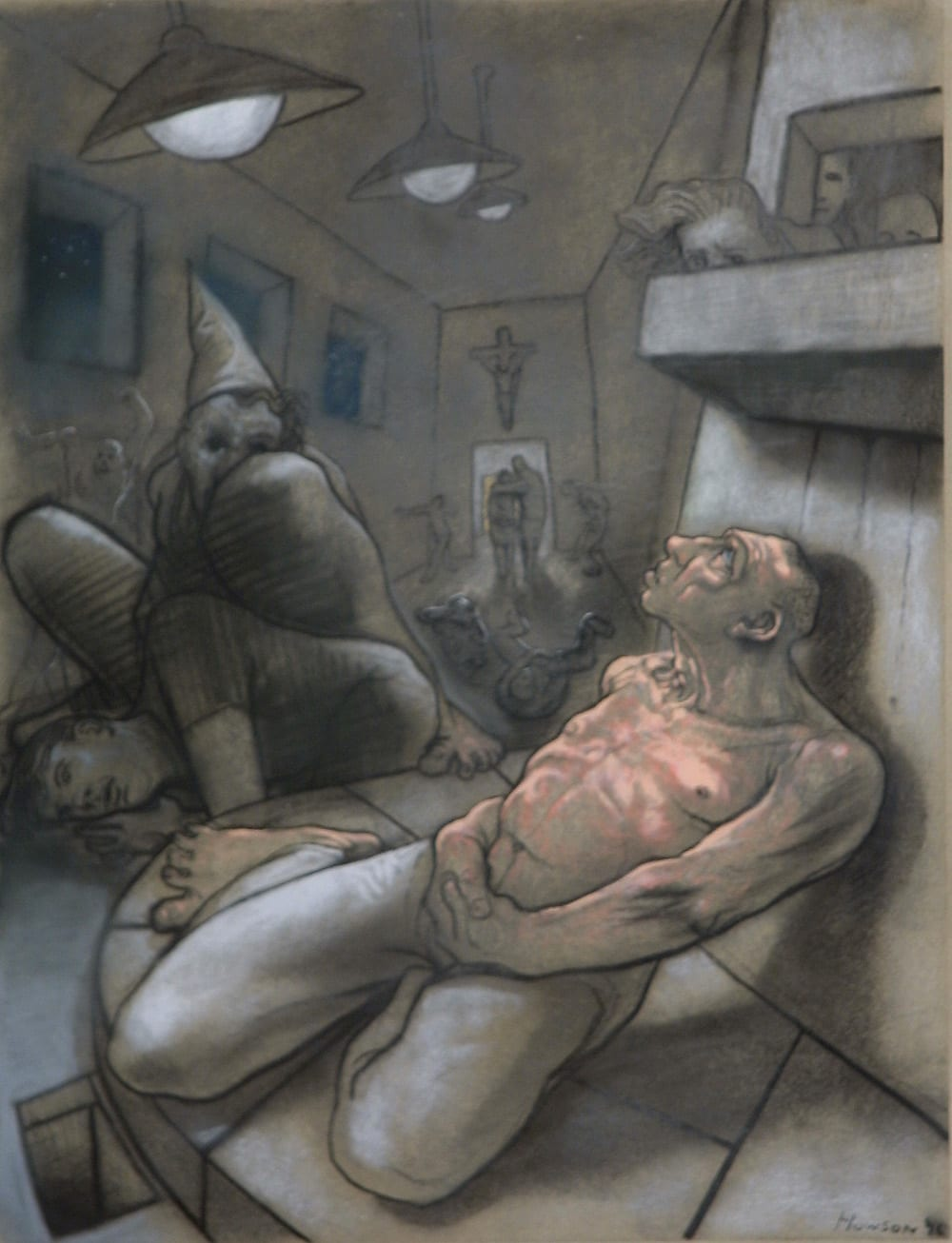 Peter Howson The Rakes Progress and other new work