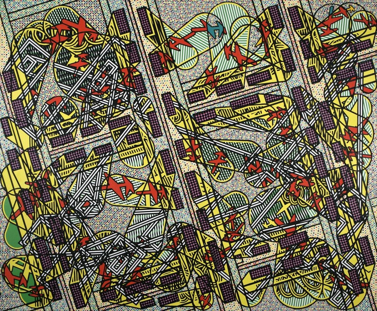 Bernard Cohen Work of Six Decades
