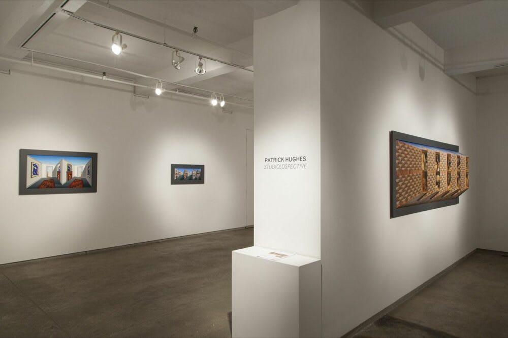 Patrick Hughes Studiolospective