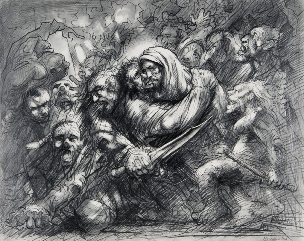Peter Howson Harrowing of Hell