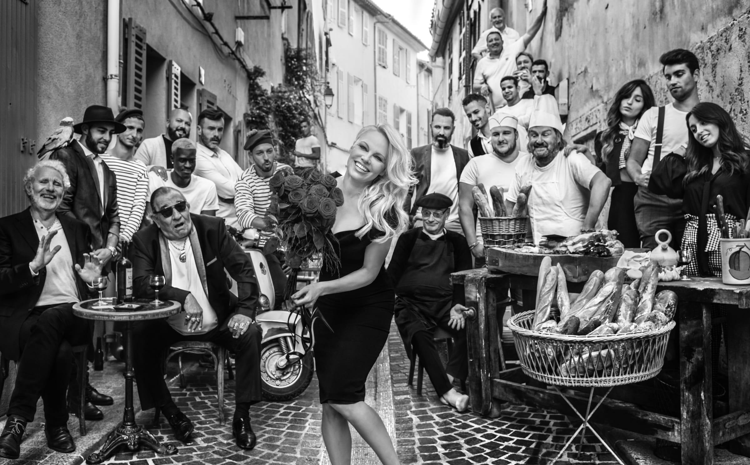 David Yarrow features Pamela Anderson in new charity artwork
