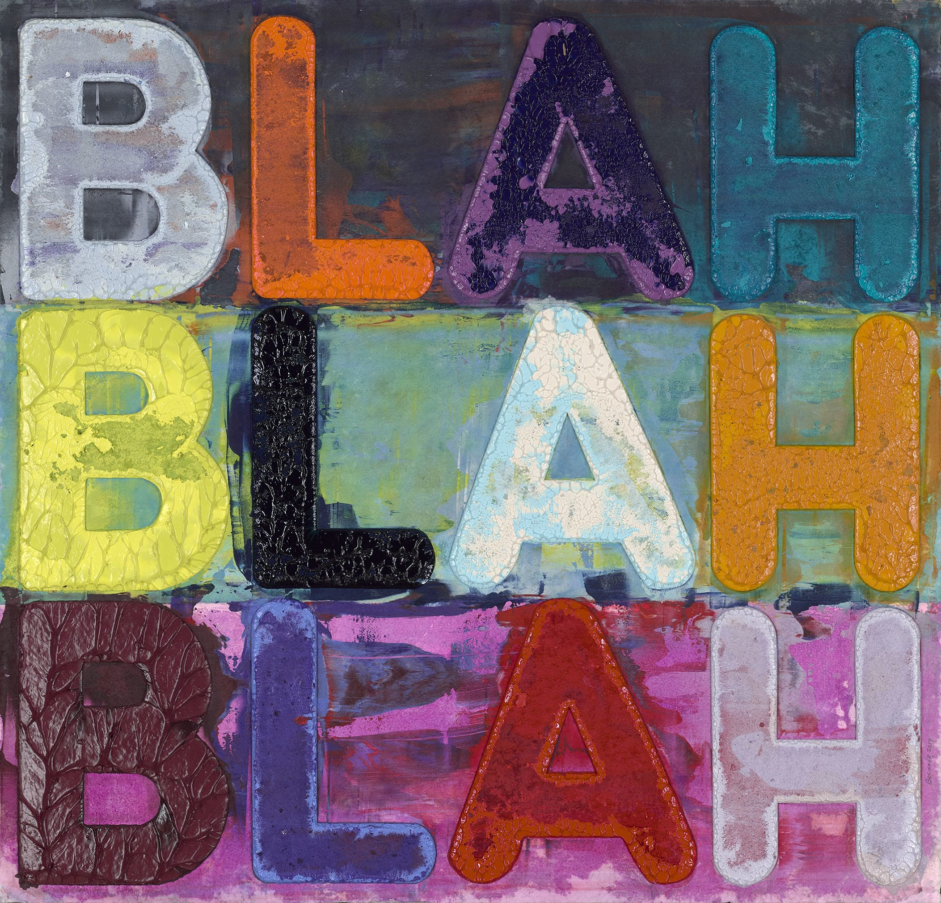 Mel Bochner And The Power of Words