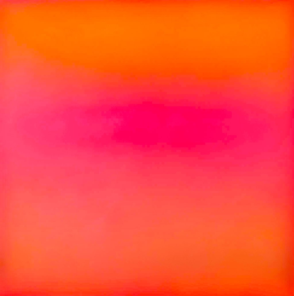 Exploring Peter Gronquist's 'Colour Field' Paintings