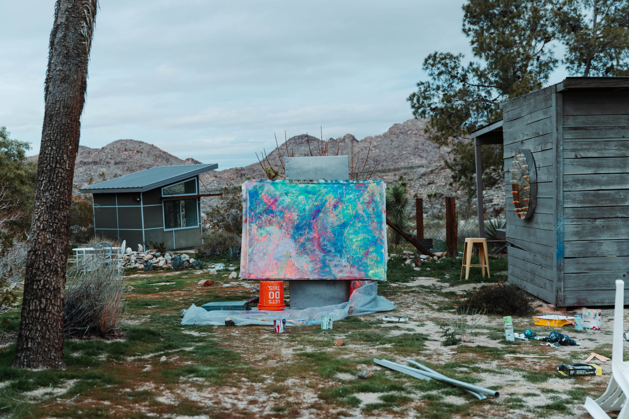 The Artist's Residency: Exploring Joshua Tree with Dylan Gebbia Richards