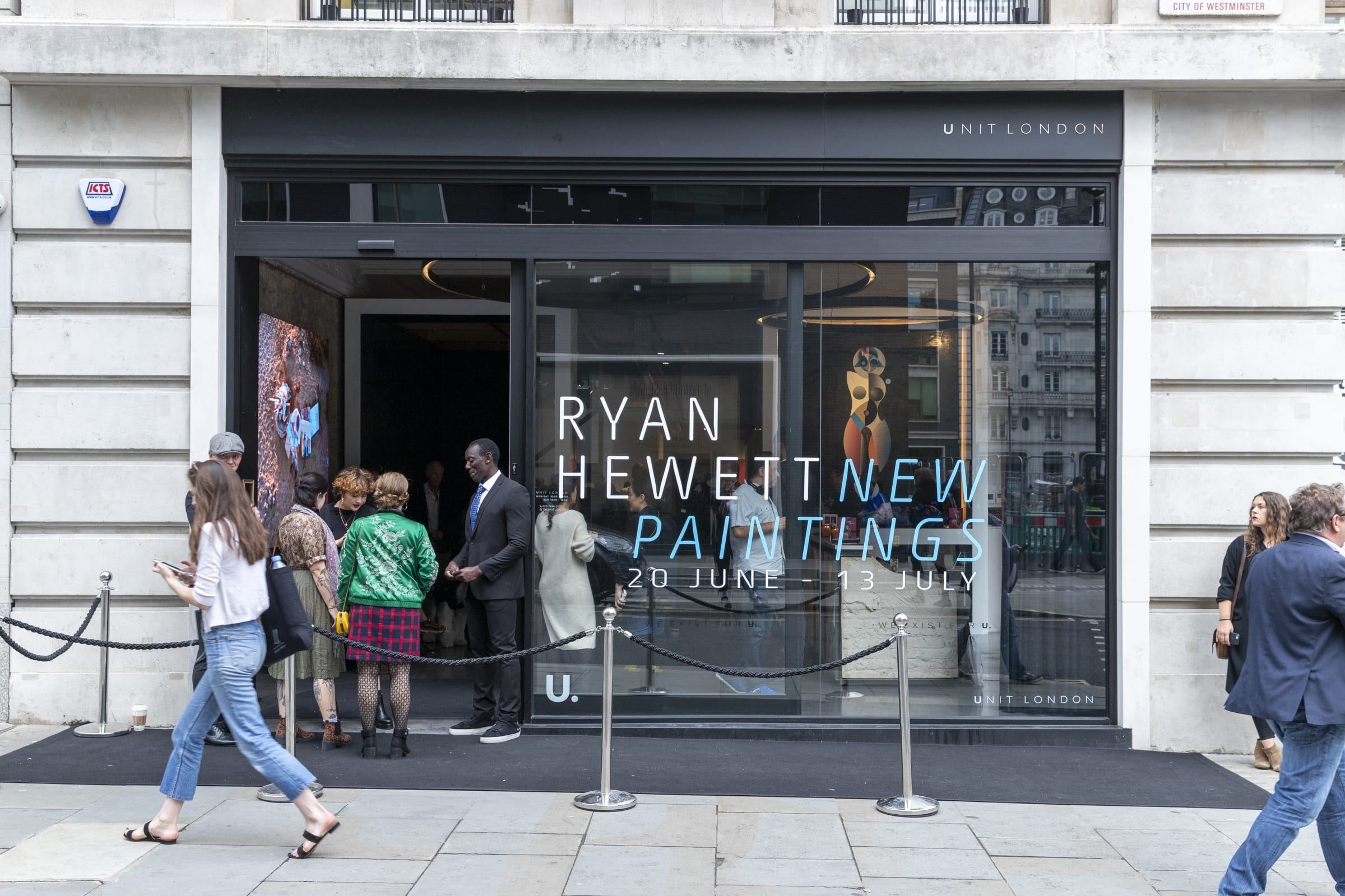 Private View: 'New Paintings' by Ryan Hewett