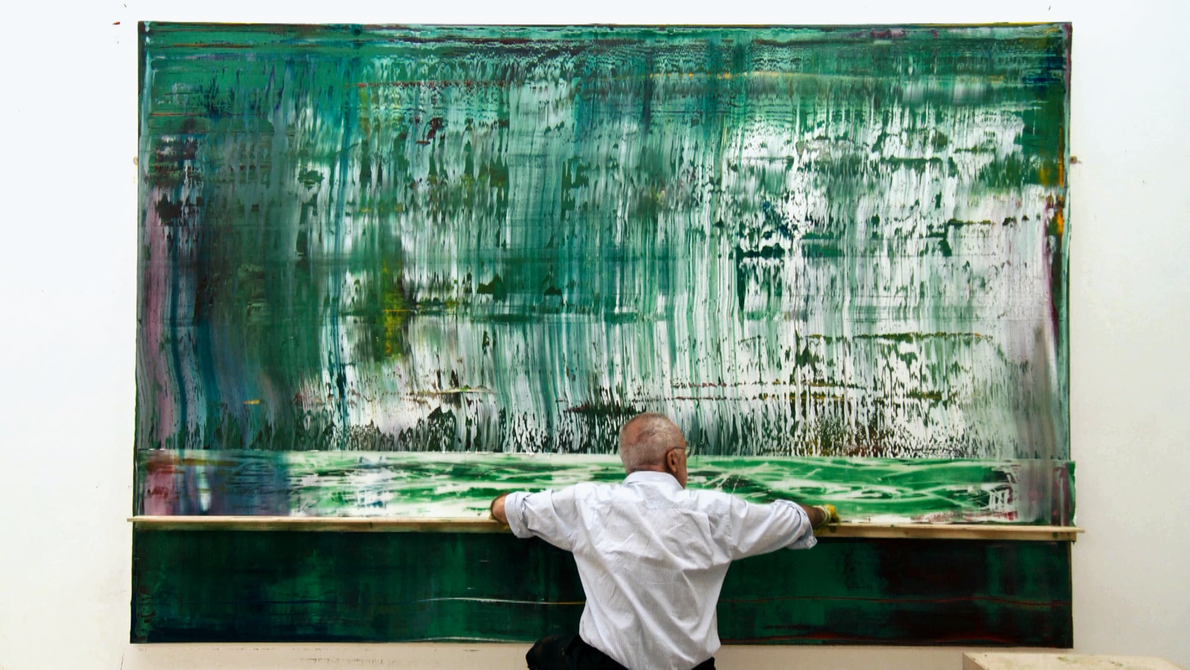 Process as painting: Gerhard Richter