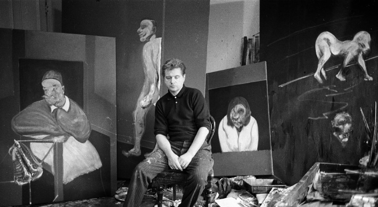Francis Bacon and externalising psychic interiority