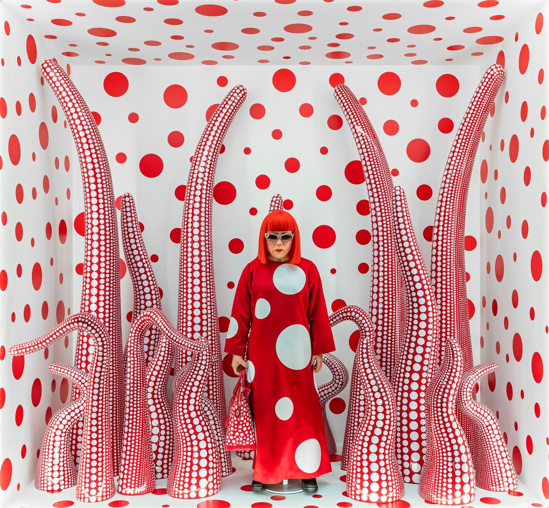 Yayoi Kusama and psychedelic schizophrenia