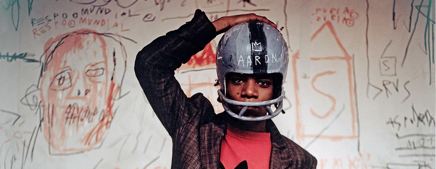 Graffiti as high art: Jean-Michel Basquiat