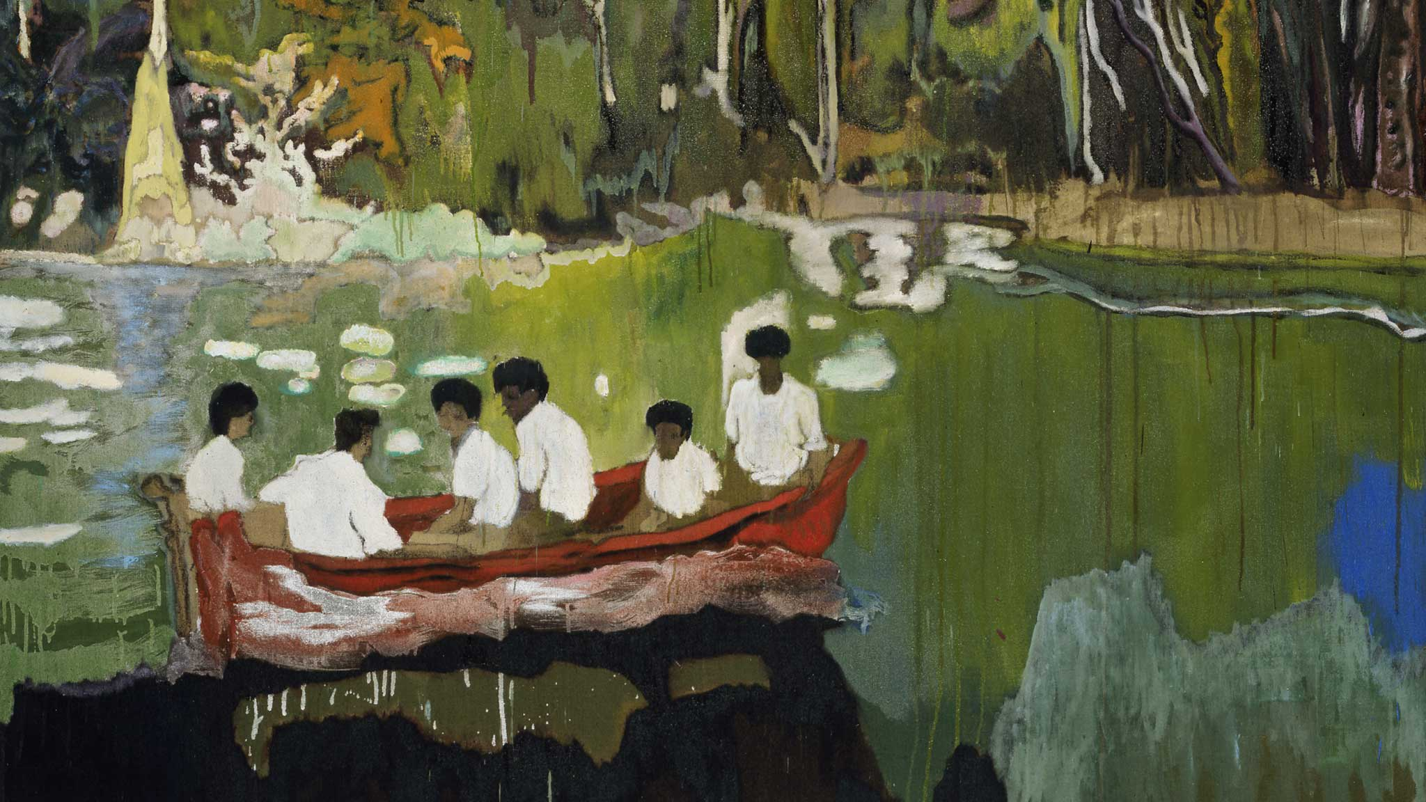 A trip into Peter Doig's elegantly reimagined world