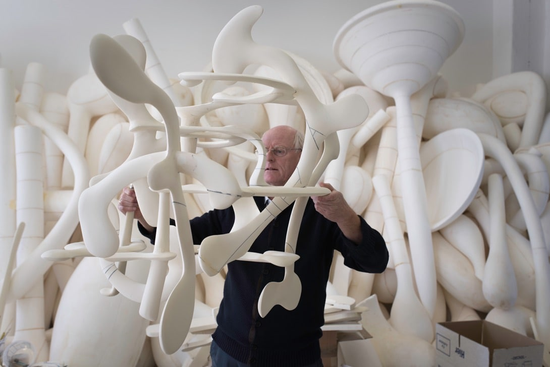 A material world: exploring the sculptures of Tony Cragg