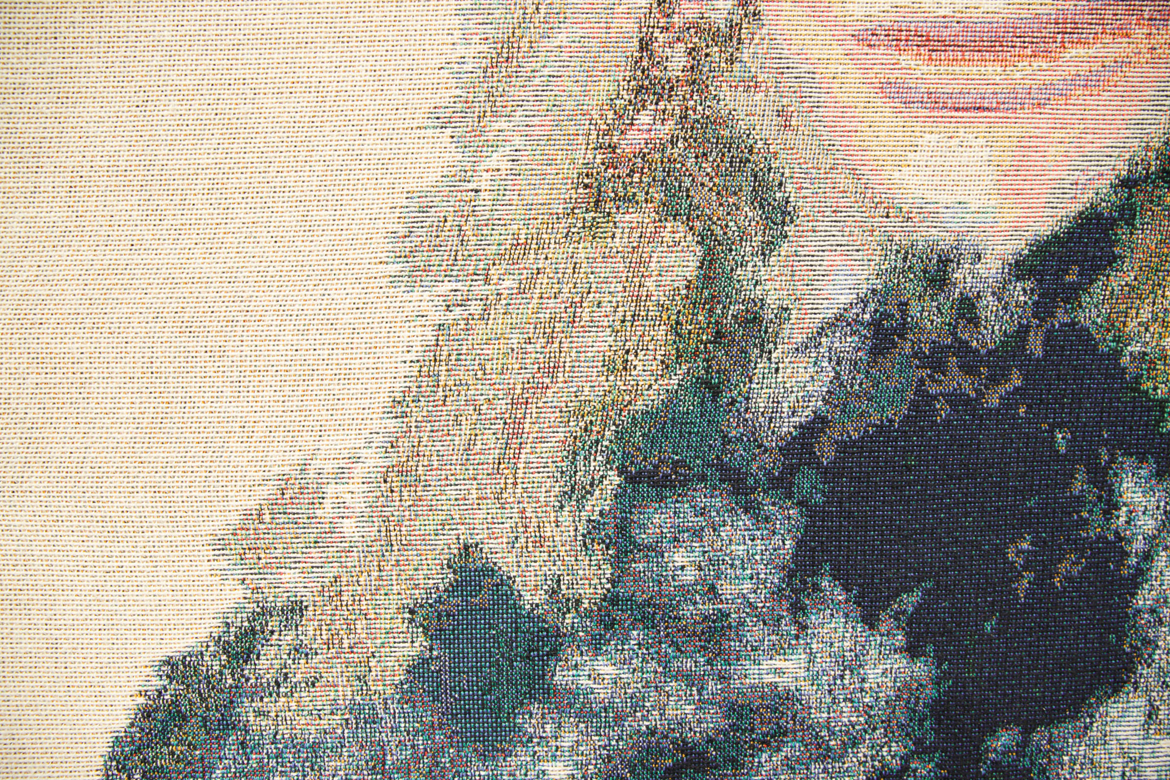 Immortalising the digital generation in tapestry