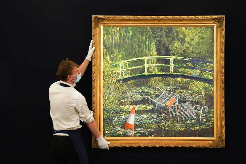 Show Me the Monet: Why is the Banksy Market Booming?, After a stand-out work sold for £7.5 million, we look...