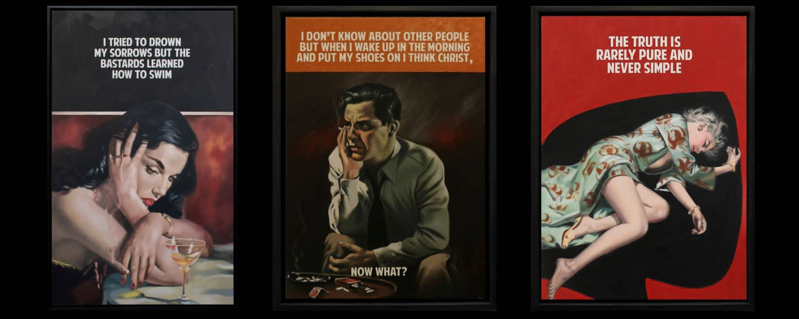 The Connor Brother's 'Pulp Fiction' series comes to an end