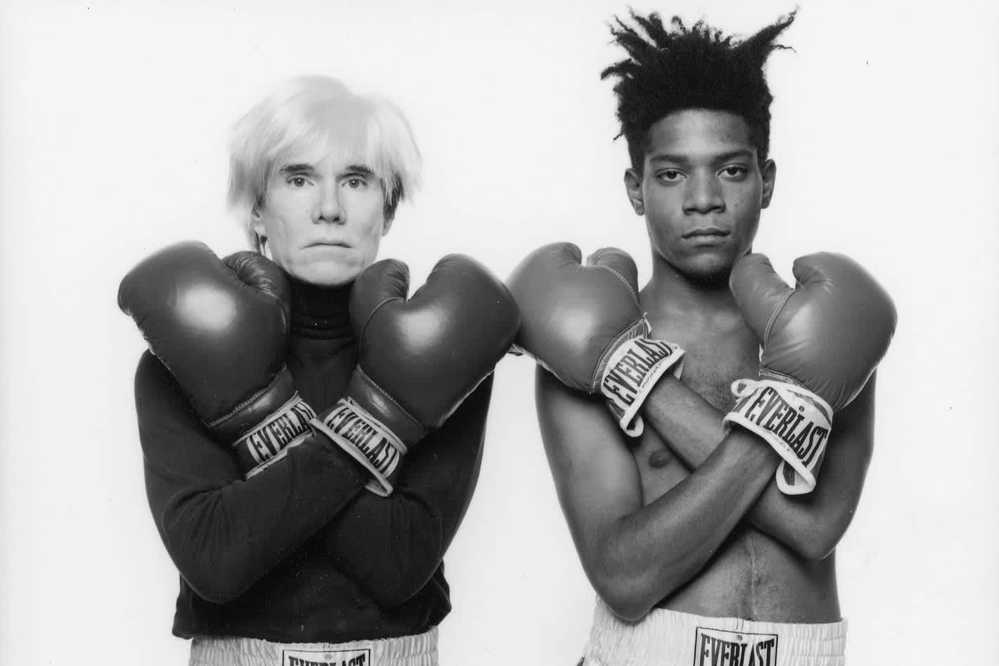 Basquiat and Warhol, An Unlikely Pair; A Legendary Friendship