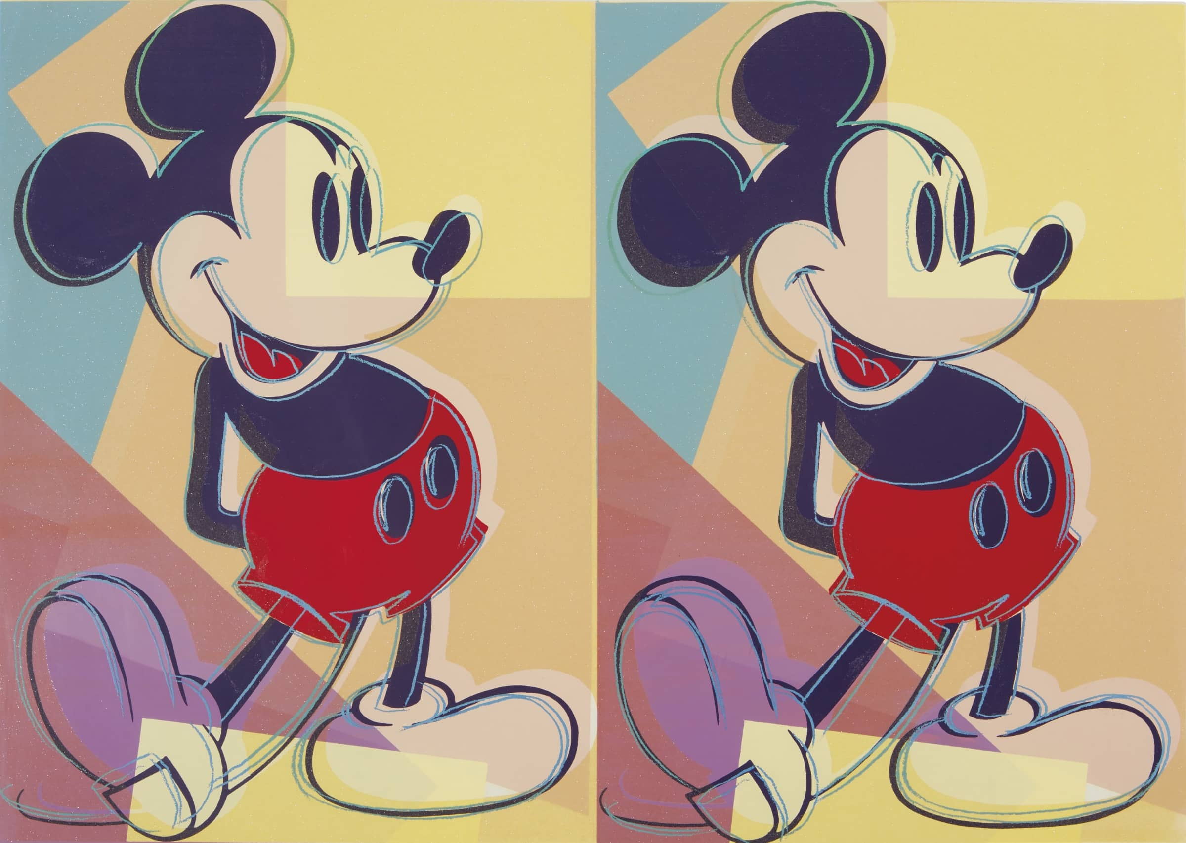 How Mickey Mouse Became The Muse of Modern Art, We map out how America's favourite cartoon went from childhood icon...