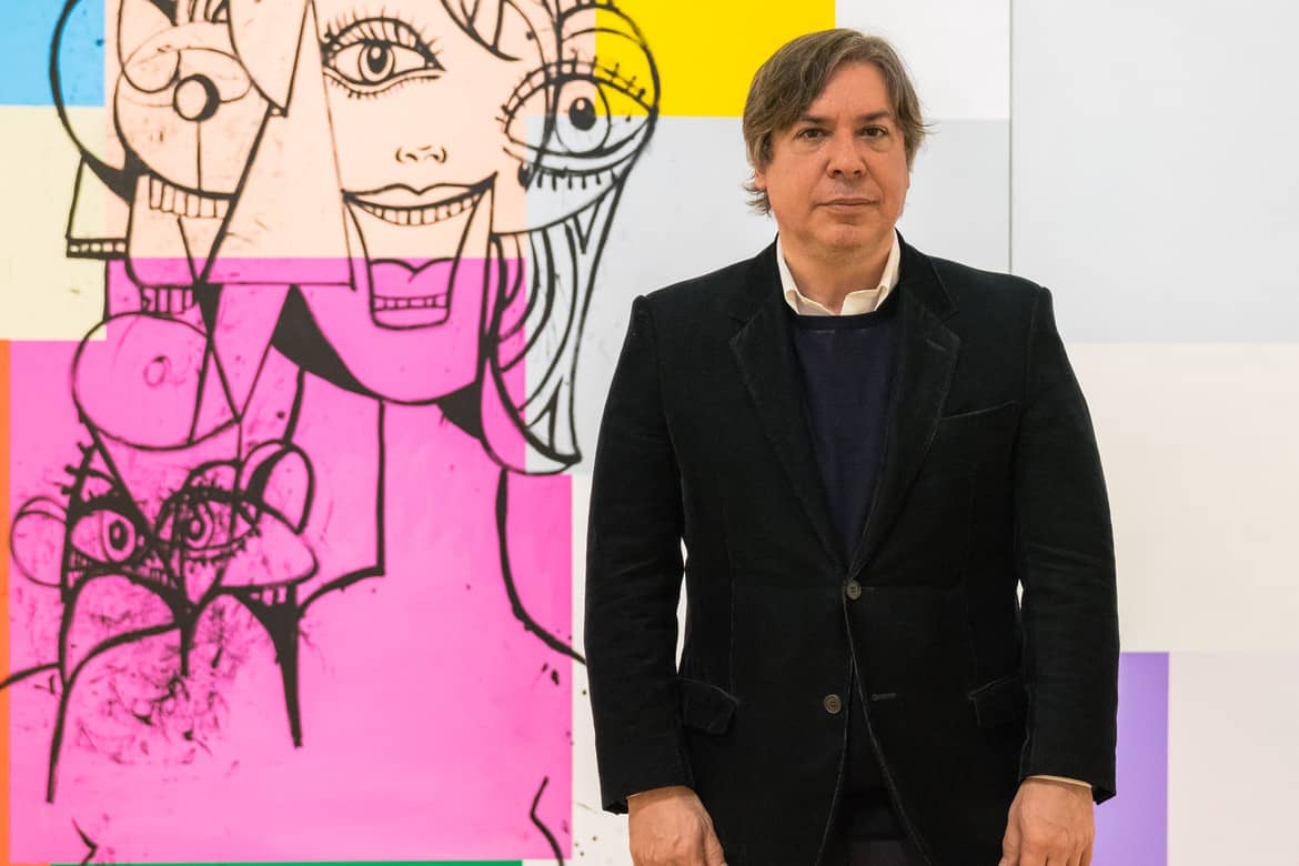 5 Things To Know About George Condo, The record selling artist that has worked from Warhol to Kanye