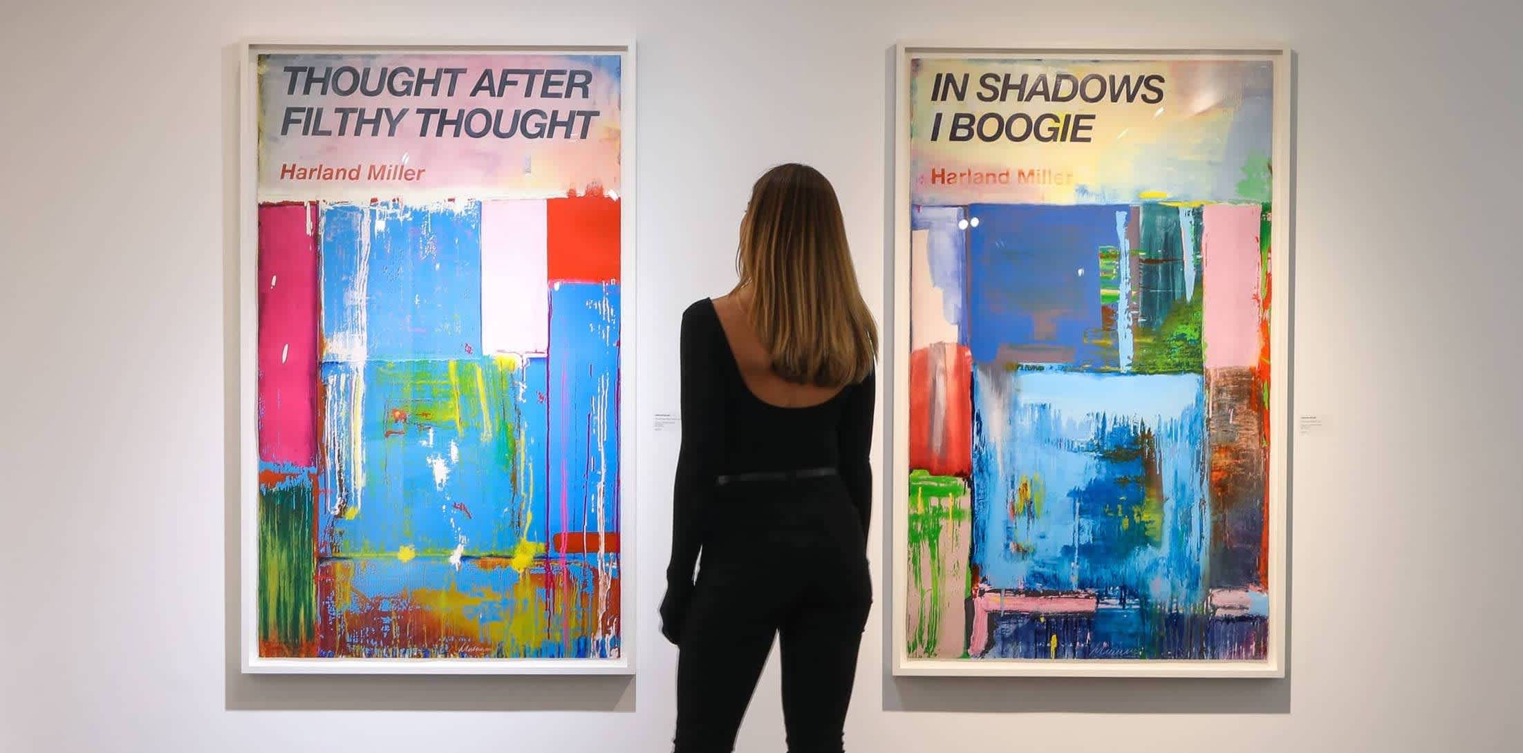 A Guide to Harland Miller, 5 things to know about the British artist who disrupts classical literary motifs by reimagining...