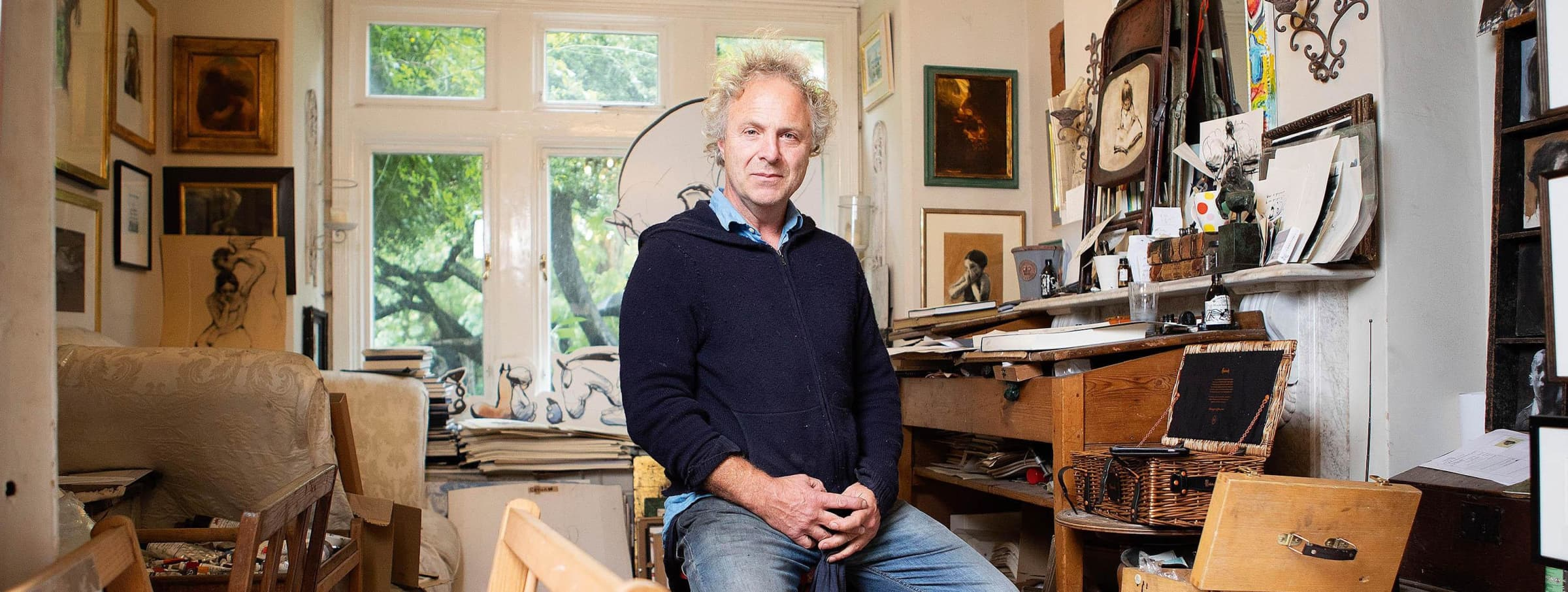 Charlie Mackesy Wins Maddox Gallery Artist of the Year , At the GQ Men of the Year Awards 2020