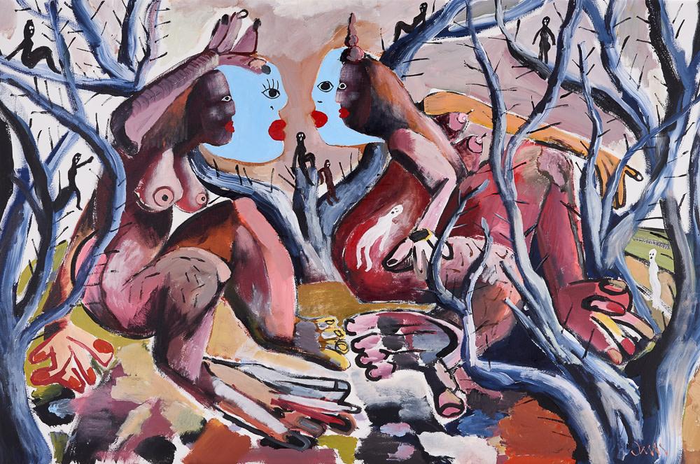 "<span class=""link fancybox-details-link""><a href=""/exhibitions/11/works/artworks1829/"">View Detail Page</a></span><div class=""artist""><strong>John-Michael Metelerkamp</strong></div> 1982 -<div class=""title""><em>Keepers 5</em>, 2016</div><div class=""medium"">Acrylic on Canvas</div><div class=""dimensions"">1600x1100mm</div>"