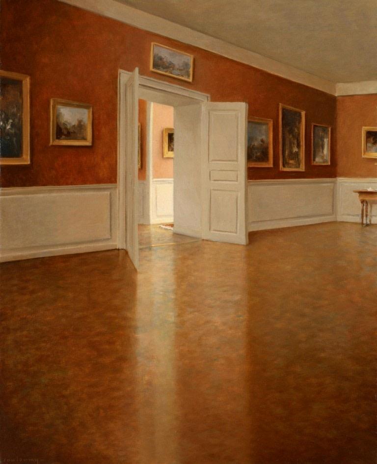 "<span class=""link fancybox-details-link""><a href=""/exhibitions/25/works/artworks85/"">View Detail Page</a></span><div class=""artist""><strong>Anne–Françoise Couloumy</strong></div><div class=""title""><em>Le Musée</em>, 2015</div><div class=""medium"">Oil on Canvas</div><div class=""dimensions"">61 x 50 cm<br>24 1/8 x 19 3/4 in.</div>"